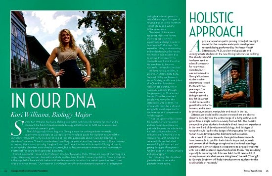 In Our DNA / A Holistic Approach