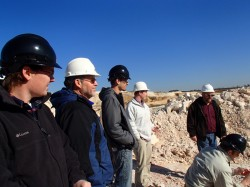 Economic Mineralogy Trip with Dr. Vance