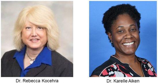 Dr. Rebecca Kocehra and Dr. Karelle Aiken
