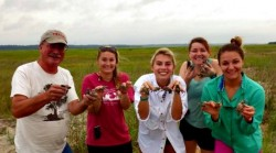 Rich and Students with Hatchlings